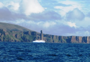 Old man of Hoy and Northlink Ferry