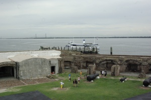 Fort Sumter remains