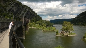 Harpers Ferry samenloop rivers